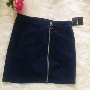 Forever 21 Corduroy Mini Skirt. Size M